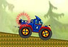 Игра Соник на грузовике