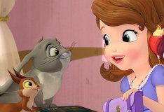 Игра Поиск букв вместе с принцессой Софией
