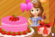 Игра Для девочек: украшать торт