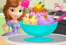 Игра Укрась-ка мороженное