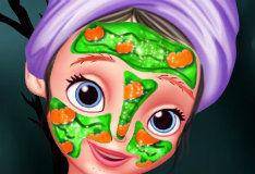 Игра Хэллоуинский макияж Софии