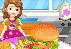 Игра Самый большой гамбургер в мире