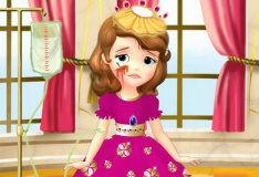 Игра Вылечи принцессу Софию