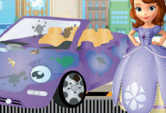 Игра Грязная машина Софии