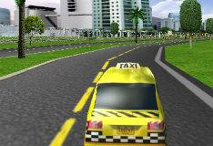 Игра Гонки на такси 3D