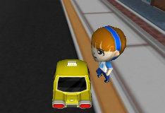 Игра 3D-такси