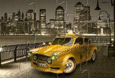 Игра Нью-Йоркское такси: пазл