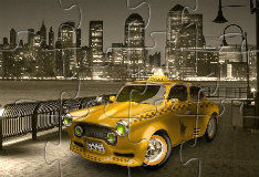 Нью-Йоркское такси: пазл