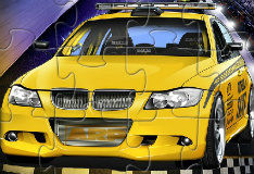 Игра Спортивное такси: пазл