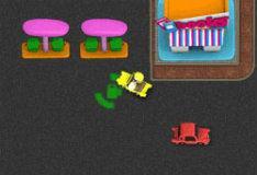 Игра Симулятор таксиста: город пузырей
