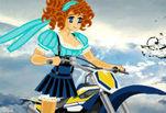 Играть бесплатно в Аниме мотокросс