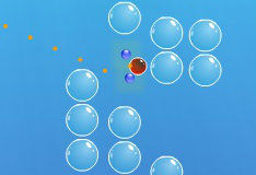 Игра Разбиваем пузырьки
