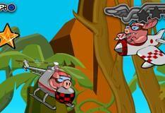Игра Свиньи-камикадзе
