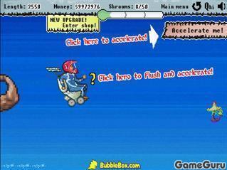 Игра Реактивный туалет (пиксельная версия)