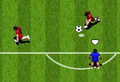 Игра Футбол на 2 игрока