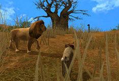 Игра Игра на двоих: Почувствуй себя животным