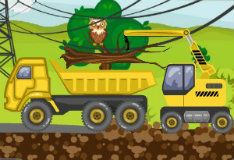 Игра Трактор-монстр