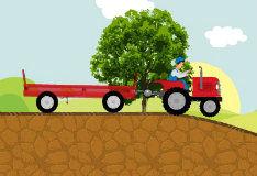 Игра Трактор-доставщик