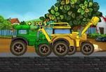 играйте в Гонки на тракторе