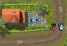 Игра Трактор против комбайна