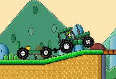 Персиковый трактор