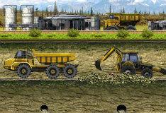 Игра Транспортировка трактора