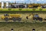 Играть бесплатно в Транспортировка трактора