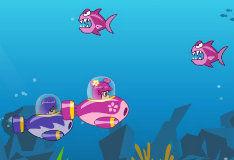 Розовая подводная лодка