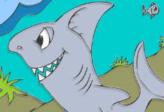 Игра Сказка про акулу