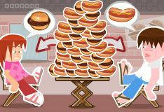 Гамбургер, хот-дог