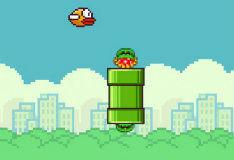 Игра Flappy Bird в мире Марио
