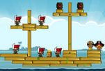 ������ ��������� � Siege Hero Pirate Pillage