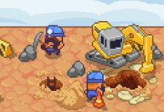 Игра Построй шахту