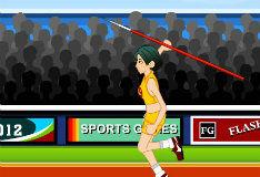 Игра Олимпийский бросок копья