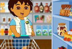 Диего идет в магазин
