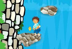 Игра Приключение на водопаде