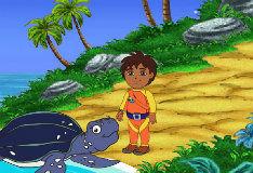 Игра Подводное приключение Диего