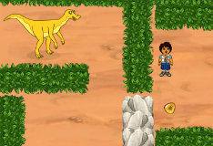Игра Спасение динозаврика