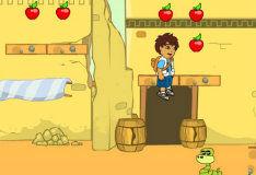 Игра Диего в поисках древних сокровищ