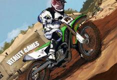 Игра Пустынный мотокросс