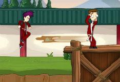 Игра Лагерь ниндзя