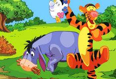 Игра Иа-Иа и Тигра: Пазл