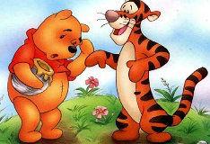 Игра Винни Пух и Тигра: Пазл