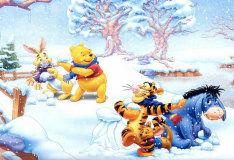 Игра Игра в снежки: Пазл