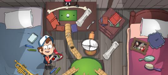 Игра на двоих: Гольф на чердаке