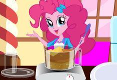 Игра Готовим кекс вместе с Пинки Пай