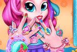 Игра Макияж ногтей от Пинки Пай