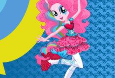 Игра Пинки Пай рок-звезда