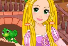 Игра Прически Рапунцель
