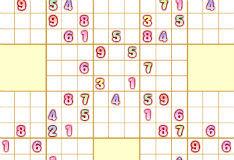 Игра Самурайское Судоку 2